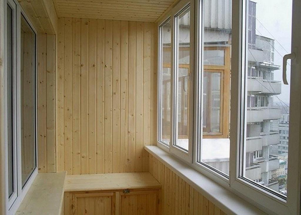 """Отделка балконов и лоджий - ооо """"намп"""" - окна балконы двери ."""